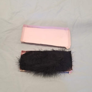 Victoria's Secret Marabou Bra Strap Set